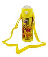 Термос детский с поилкой Disney 603 350 мл Винни Пух