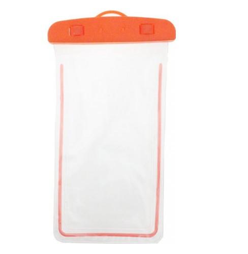 Водонепроницаемый чехол для всех мобильных телефонов HOW Оранжевый