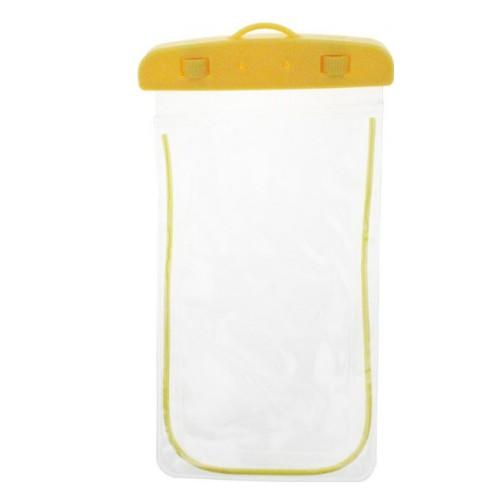 Водонепроницаемый чехол для всех мобильных телефонов  Желтый