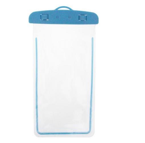 Водонепроницаемый чехол для всех мобильных телефонов HOW Синий