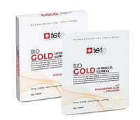 Гидрогелевая омолаживающая маска с коллоидным золотом TETe Cosmeceutical Bio Gold Hydrogel Mask 4х1шт