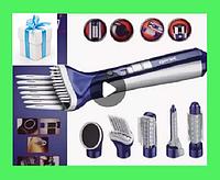 Фен Gemei GM-4834 6в1   Фен с насадками   Для укладки волос