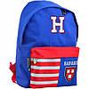 """Рюкзак молодий. """"Yes"""" Harvard blue 1від.,1карм.,41х30х11см №SP-15/555040, фото 8"""