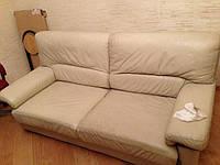 Чистка кожаной мебели. Цены. Химчистка на дому.