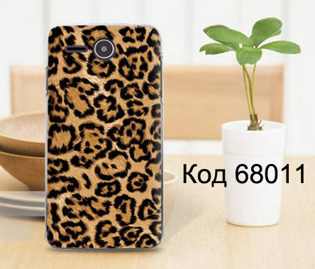 Чехол для lenovo a680 панель накладка с рисунком леопард, фото 2