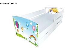 Детская кровать Киндер-Кул. Viorina-deko.