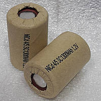 Аккумуляторы для шуруповёрта NiCa 4/5 SC-1300mAh 1.2v