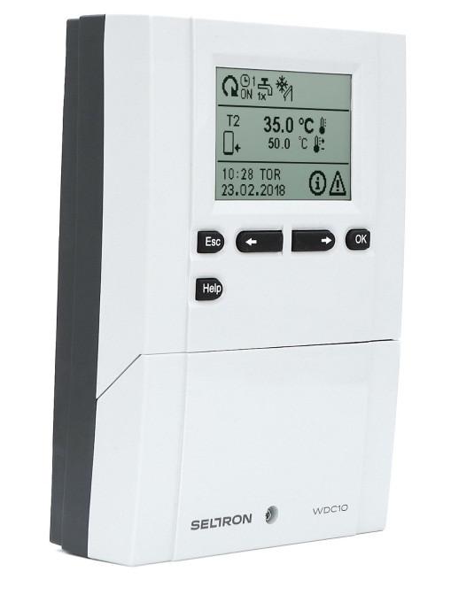 Контроллер для системы отопления SELTRON WDC20 (погодозависимый)