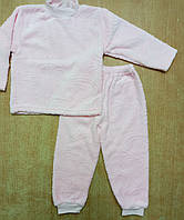 Костюм-пижама теплая велсофт р.110
