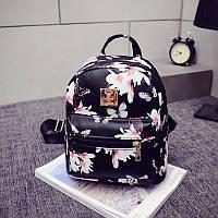 Женский рюкзак городской Flowers (уцененный товар), фото 1