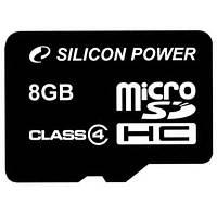 Карта памяти 8Gb microSDHC class 4