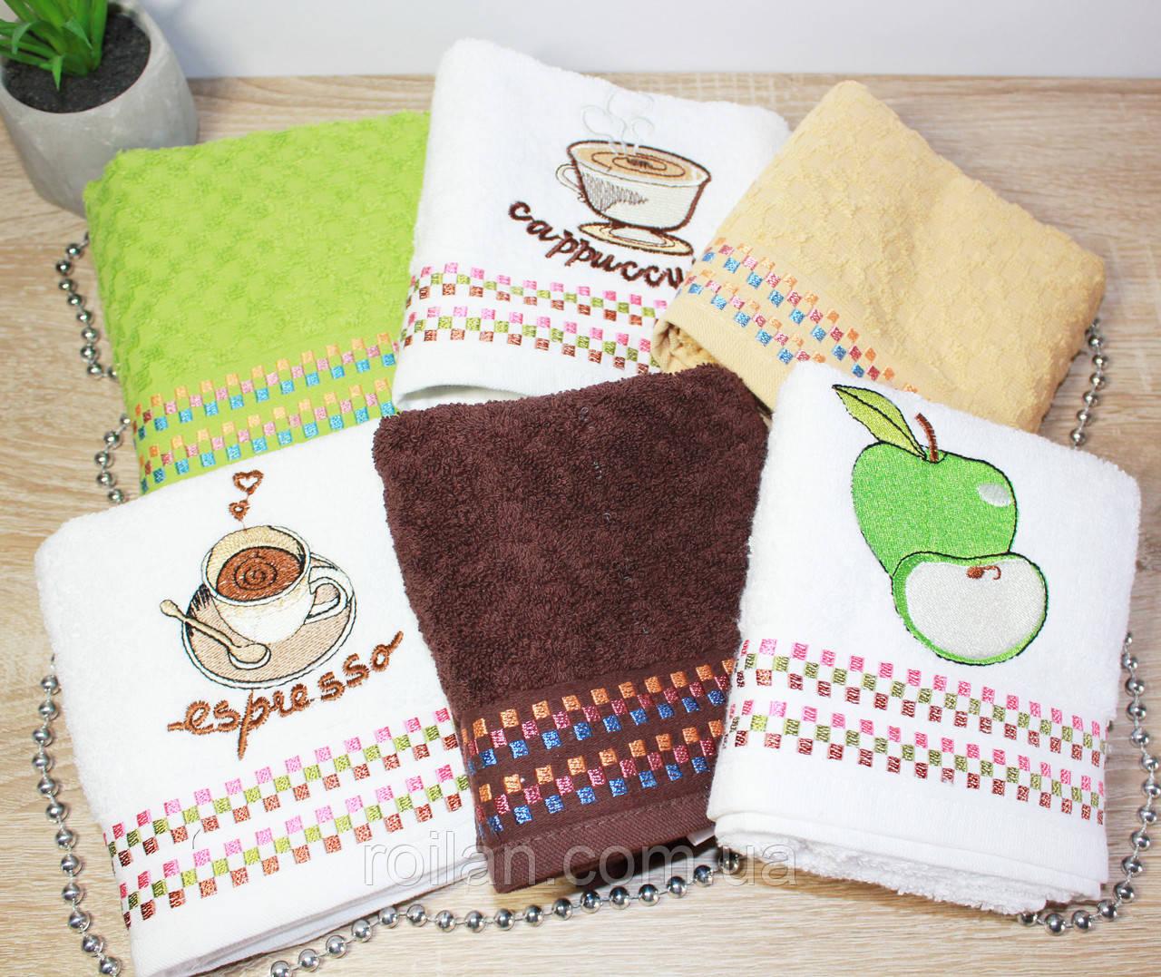 Турецкие кухонные полотенца Фрукт