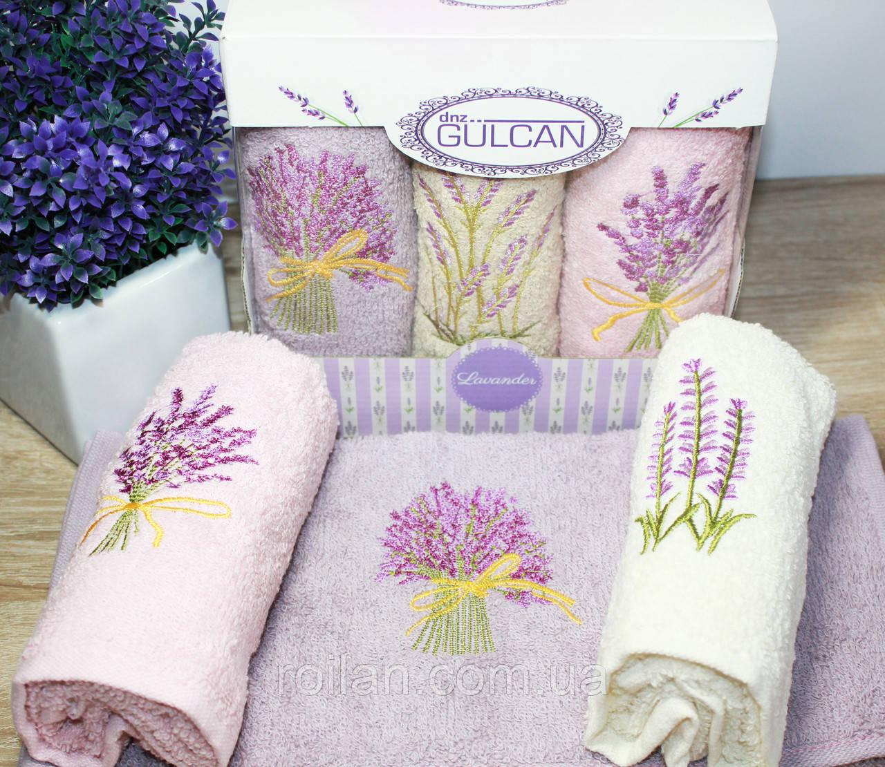 Набір кухонних рушників Gulcan Лаванда