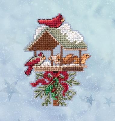 Набір для вишивки Winter Feast / Зимовий свято Mill Hill