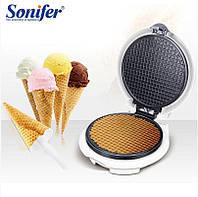 Вафельница SONIFER Cone Maker Pro для бельгийских вафель