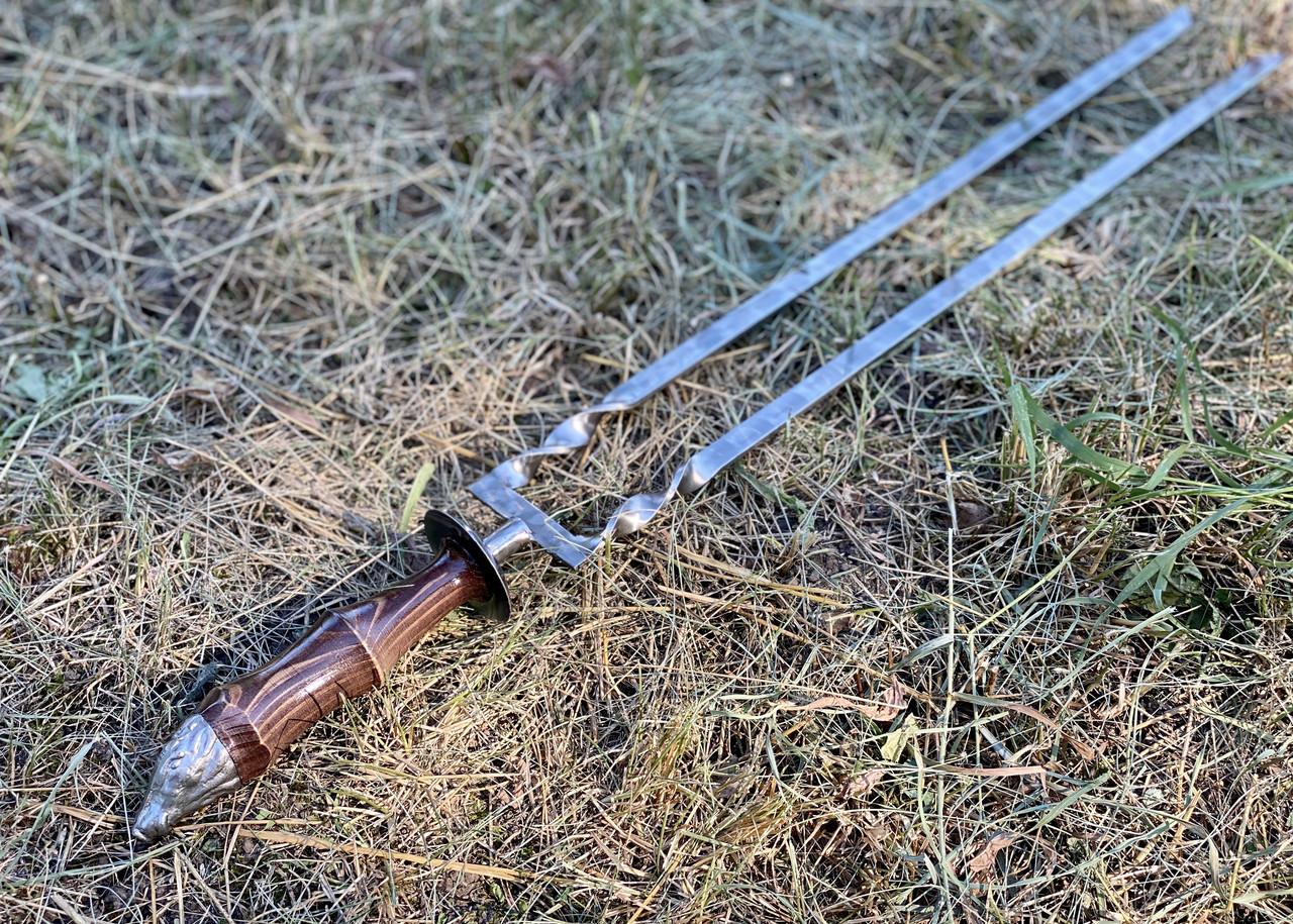Двойной шампур КАБАН, ручной работы 3 мм
