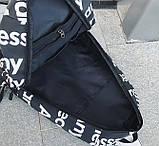 Рюкзак SUPREME & The North Face суприм школьный портфель черный, фото 5