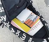 Рюкзак SUPREME & The North Face суприм школьный портфель черный, фото 6