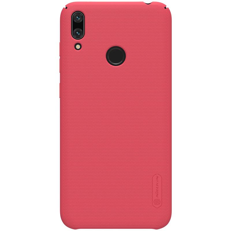 Nillkin Huawei Y7 Prime (2019) / Y7 2019 Super Frosted Shield Red Чехол Накладка Бампер