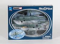 Сборная модель-Вертолет 1:60 металл SIKORSKY SH-60 NEW RAY