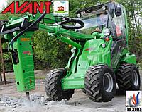 Мини погрузчик AVANT Финляндия для: Строительство и Демонтаж (аналог Bobcat Бобкет) Погрузчик мини трактор