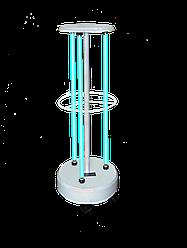 Облучатель бактерицидный передвижной ОБПе-225м (3-30 Вт) (кварцевая лампа Philips, безозоновая)