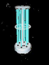 Облучатель бактерицидный передвижной ОБПе-450м (6-30 Вт) (кварцевая лампа Philips, безозоновая)