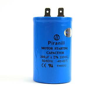 Конденсатор CD60 200 мкФ 330 V, пусковий
