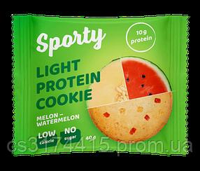 Протеиновое печеньеSporty Protein Light Дыня-Арбуз (40 грамм)