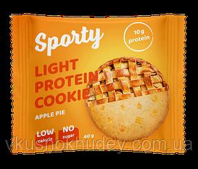Протеиновое печеньеSporty Protein Light Яблочный Пирог (40 грамм)