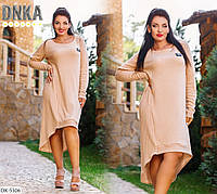 Женское платье ангора батал / большие размеры