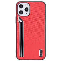 Чехол на iPhone 11 Pro Max (6,5 дюйм) / Айфон 11 Про Макс (6,5 дюйм) красный