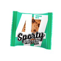 Протеиновое печенье Sporty  Шоколад-Мята  (65 грамм)