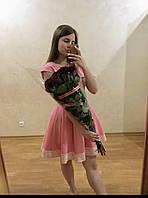 Сукня рожева коротка б/у