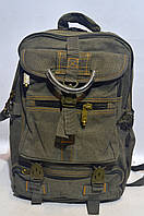 Рюкзак брезентовый GOLD Be хаки, фото 1