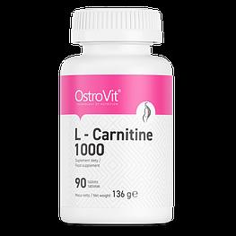 L-Carnitine 1000 мг OstroVit 90 таблеток
