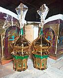 Золотые маковки церквей d/40cm разных размеров, фото 3