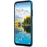 Nillkin Huawei P40 Lite/ Nova 7i/ Nova 6SE Super Frosted Shield Blue Чехол Накладка Бампер, фото 3
