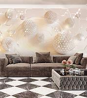 """Современные фотообои 3D на флизелине """"Дизайнерские шары"""""""