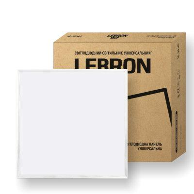 Світильник 40W LED офісний універсальний монтаж (накладний, врізний, підвісний) 6200K 3200LM 595*595 LEBRON