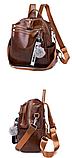 Рюкзак-сумка женская с игрушкой Noble, фото 5