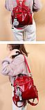 Рюкзак-сумка женская с игрушкой Noble, фото 3