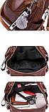 Рюкзак-сумка женская с игрушкой Noble, фото 7