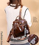 Рюкзак-сумка женская с игрушкой Noble, фото 4