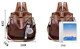 Рюкзак-сумка женская с игрушкой Noble, фото 2