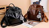 Рюкзак-сумка женская с игрушкой Noble, фото 9