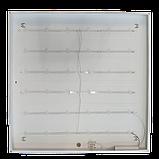 Світильник 40W LED офісний універсальний монтаж (накладний, врізний, підвісний) 6200K 3200LM 595*595 LEBRON, фото 5