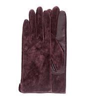 Бордовые перчатки H&M