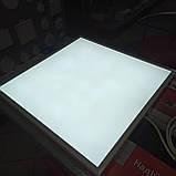 Світильник 40W LED офісний універсальний монтаж (накладний, врізний, підвісний) 6200K 3200LM 595*595 LEBRON, фото 2