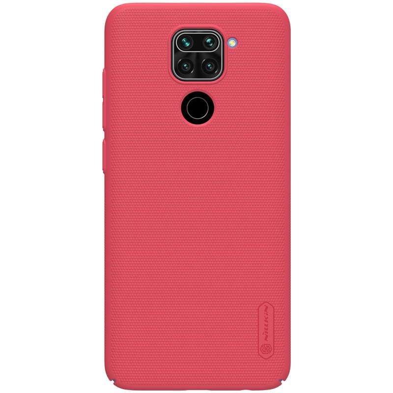 Nillkin Xiaomi Redmi Note 9/ 10X 4G Super Frosted Shield Red Чохол Накладка Бампер